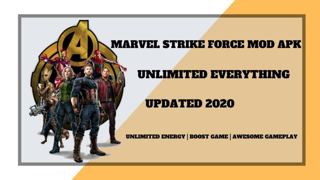 Marvel Strike Force Mod APK Unlimited Everything