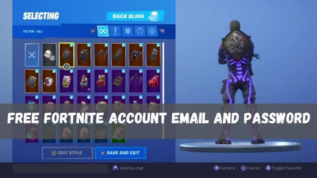 Free Fortnite Account Email And Password