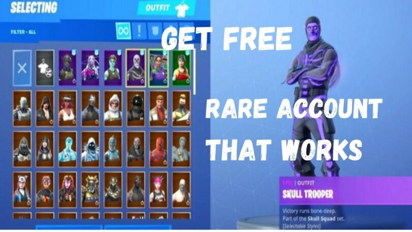 Fortnite account generator that Works