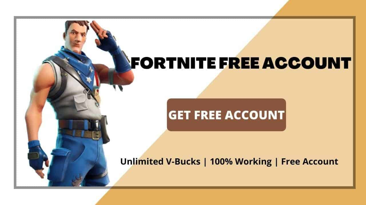 Free fortnite Account Email and Password Generator 2020