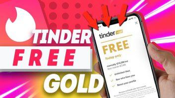 Tinder Gold Free Trial Code 2021   Get Free Tinder 100%