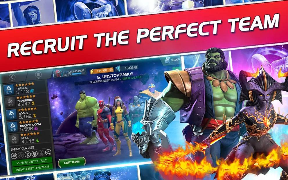 Marvel Contest of Champions Mod Apk 1