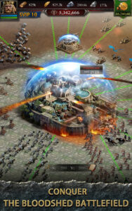 Clash of Kings Mod APK iOS Latest 2021 [Unlimited Gold and Money] 1