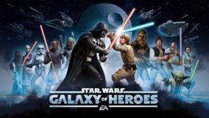 Star Wars Galaxy of Heroes MOD APK iOS Unlimited Everything 1