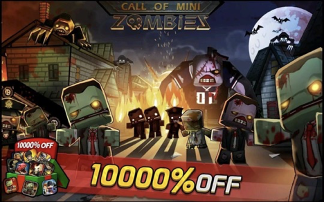 Call of Mini Zombies MOD APK iOS Unlimited Everyting