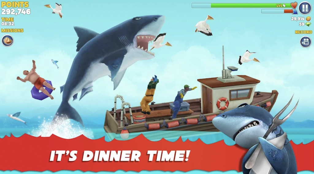 About Hungry Shark