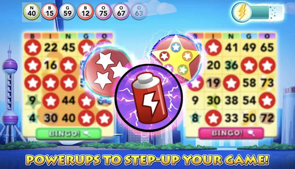 Gameplay BINGO Mod APK Unlimited Money